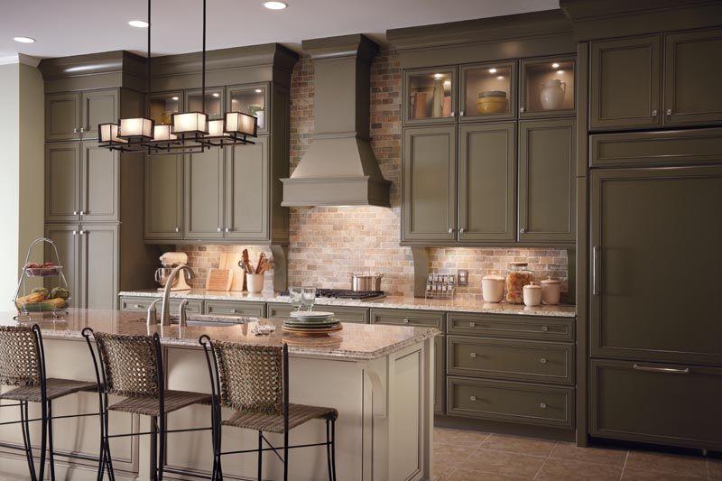 My Dream Kitchen Mushrooms Kraftmaid Cabinets And Kitchens