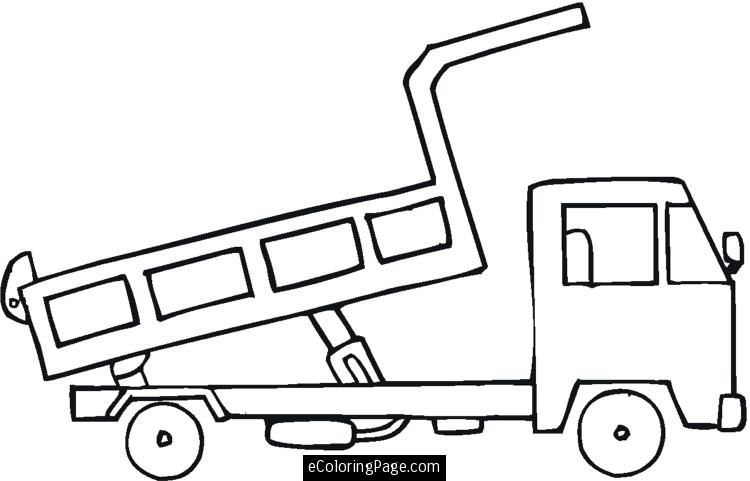 dump trucks coloring pages and trucks on pinterest