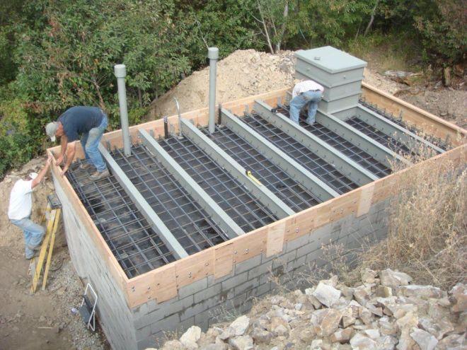 House plans with underground garage ideas