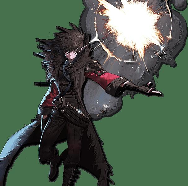 Male Mage Elemental Bomber Oblivion Awakening
