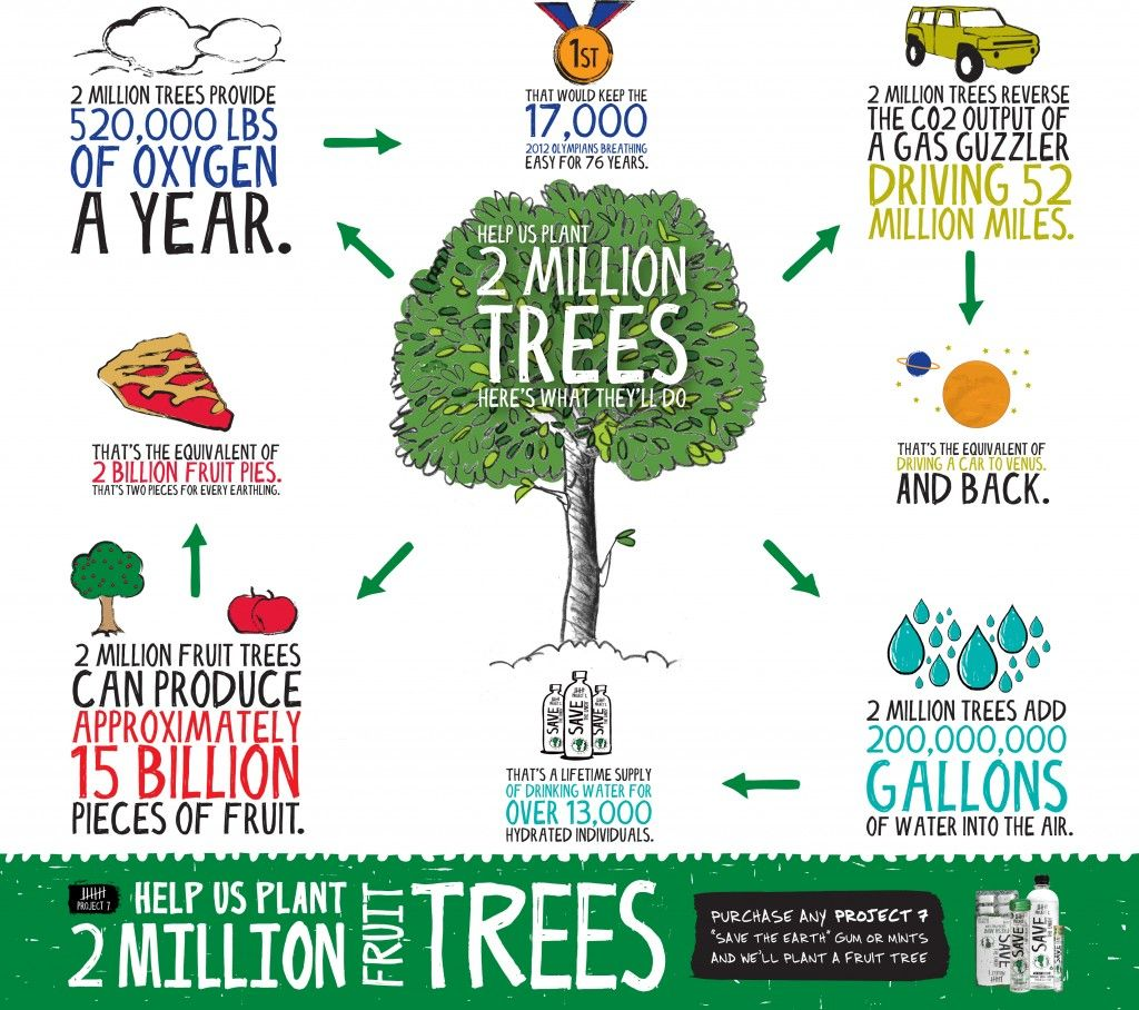 Project 7 Has A Great Earth Day Infographic As Well As A