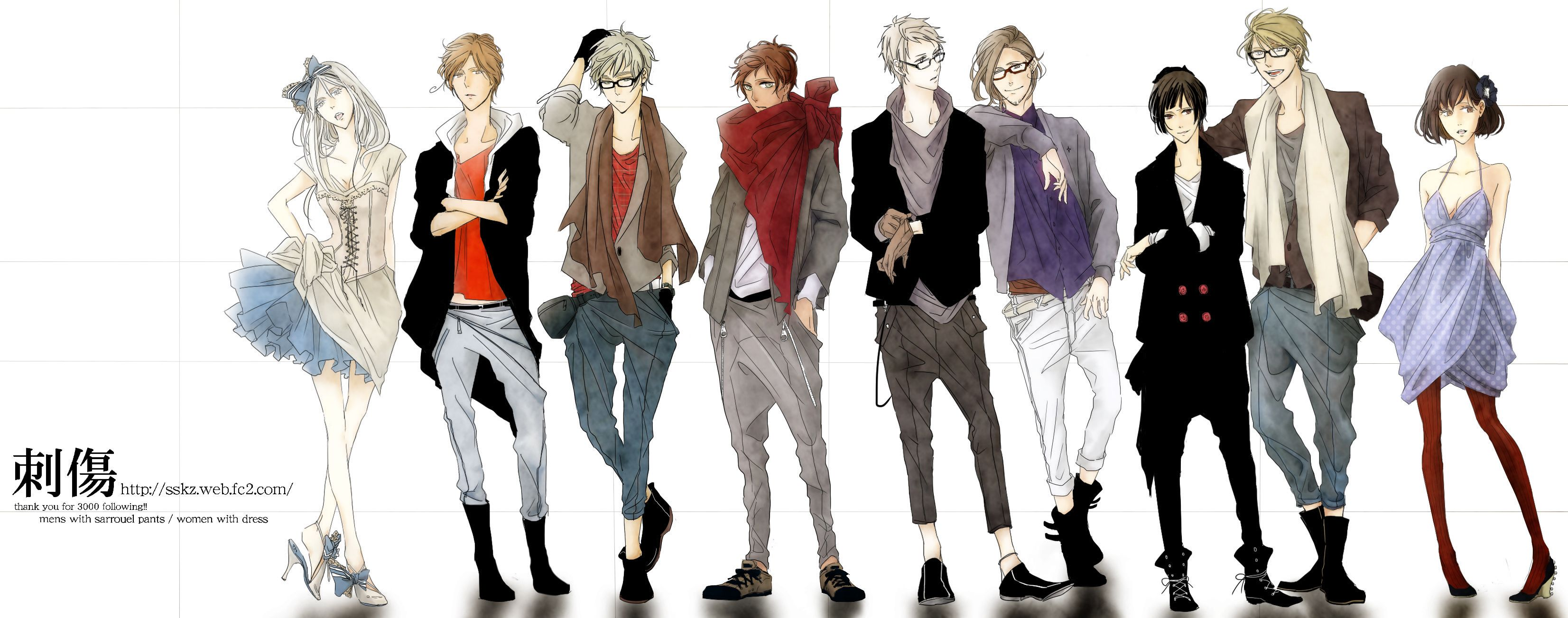 Anime Outfits Pinterest