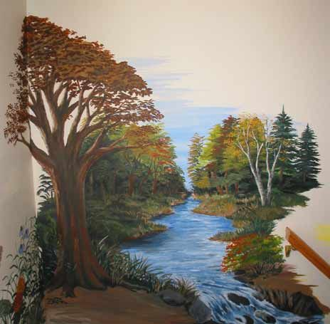 Paint Wall Mural Decoration Ideas