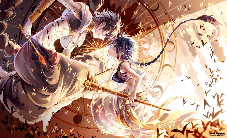 Magi Judal Wallpaper Magi judal wal anime Pinterest
