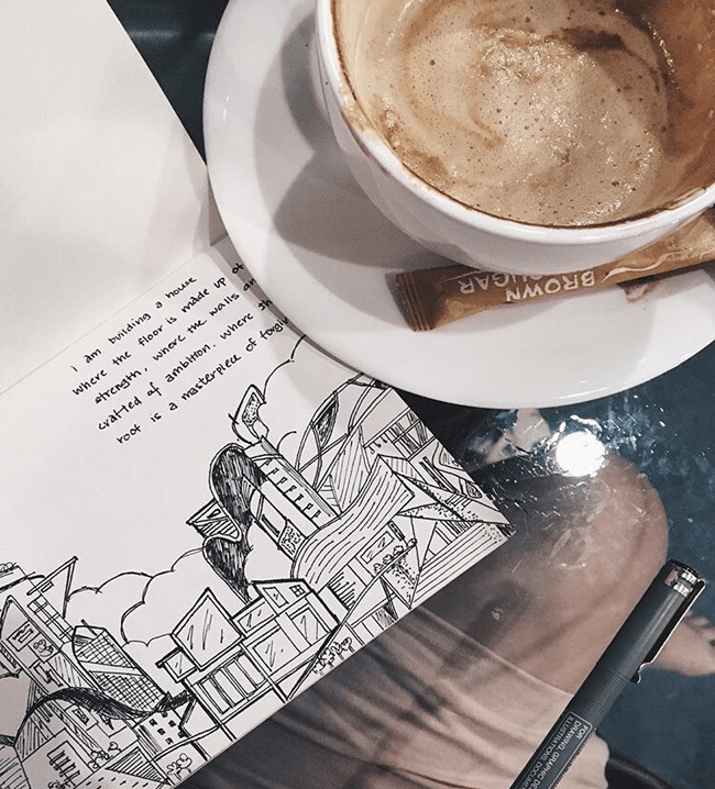 the story of poetry at unexpected places ft. fan art