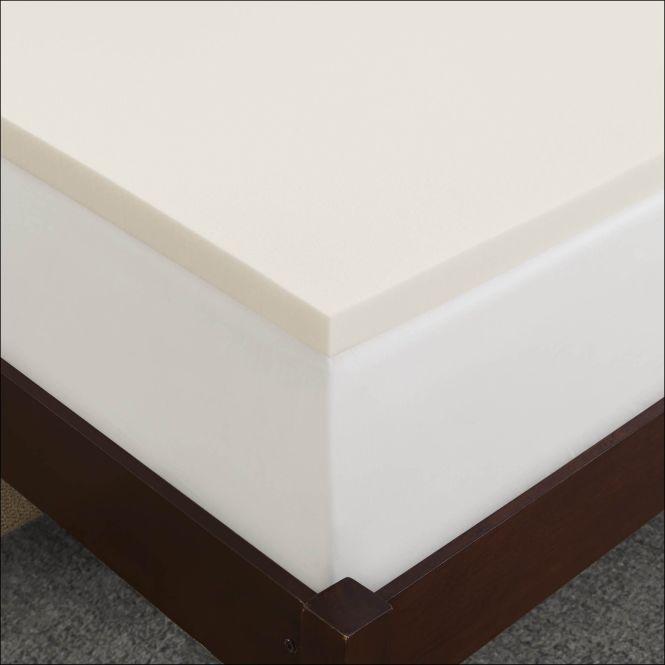 Sleep Innovations 2 Inch Memory Foam Twin Xl Mattress Topper