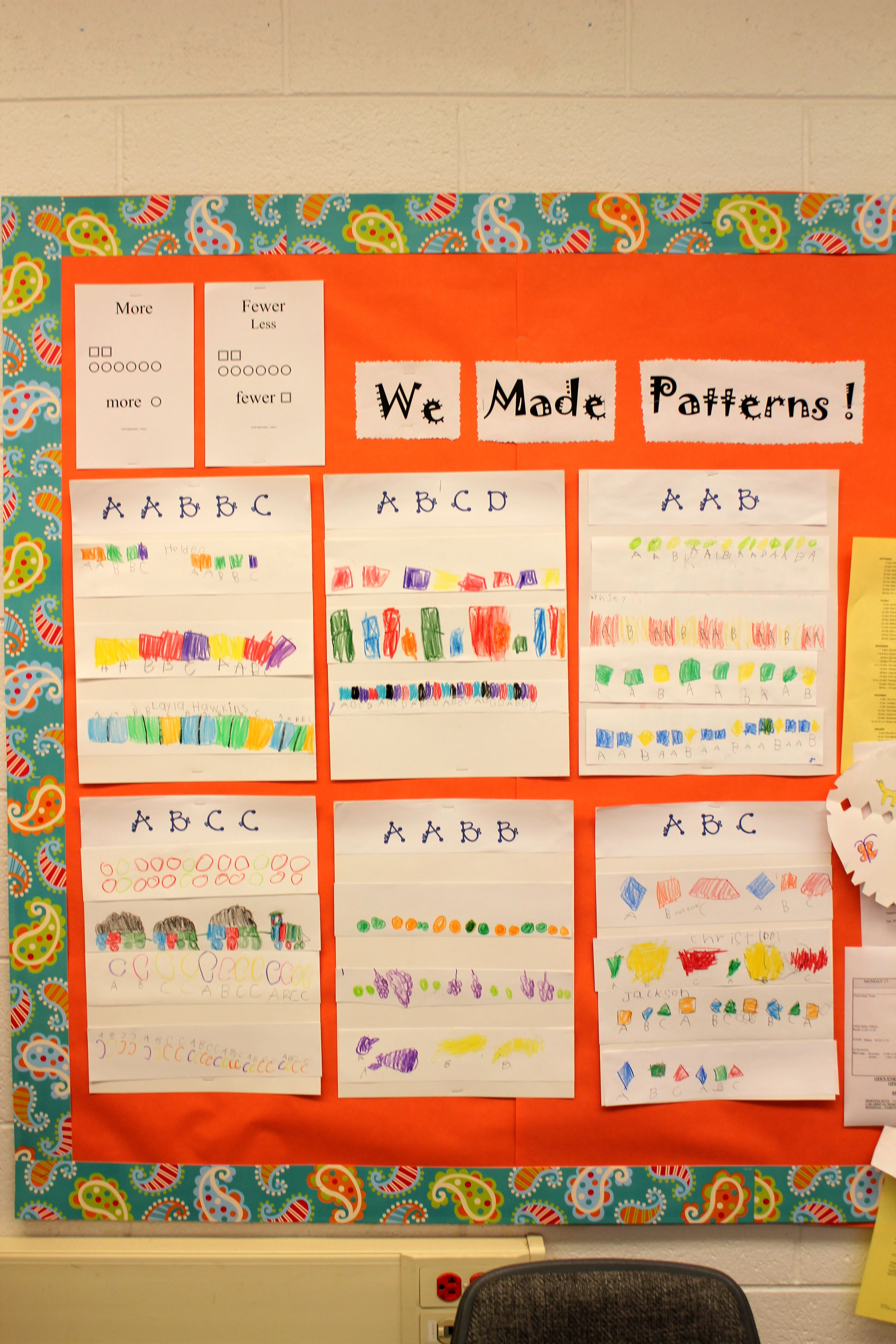 Growing Patterns Lesson Plans First Grade