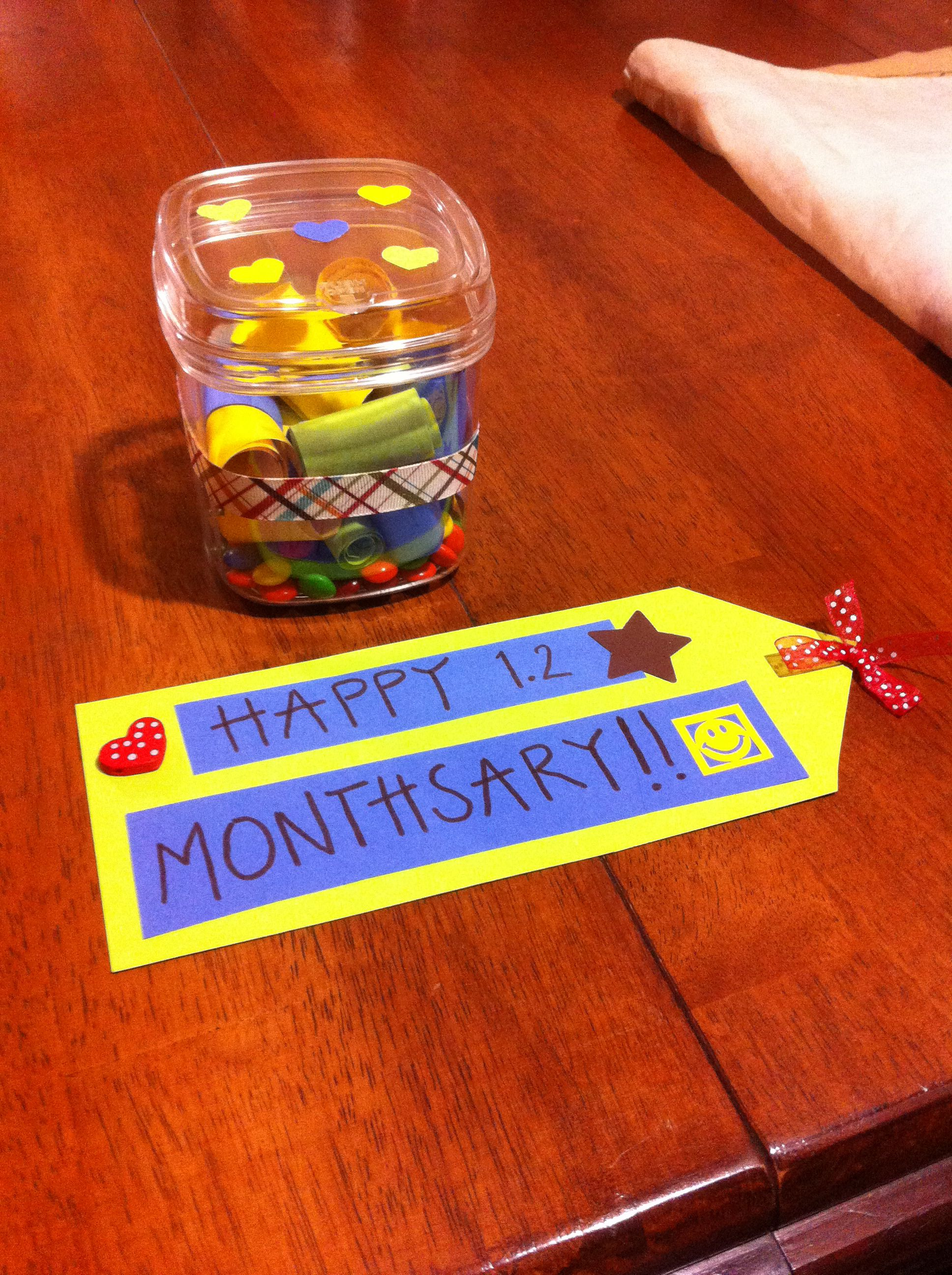 Monthsary Gift Monthsary Pinterest Gift