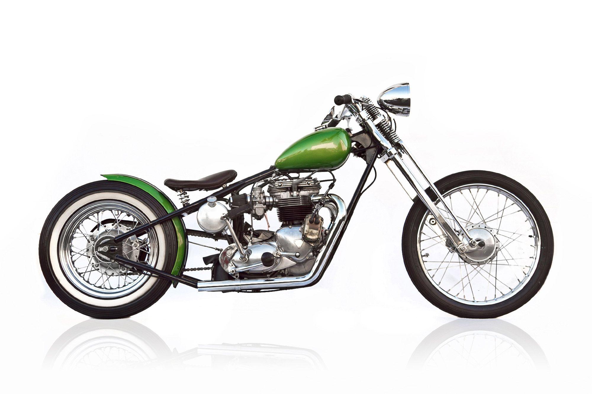 The Mono Auuscustoms Motorcycle Triumph