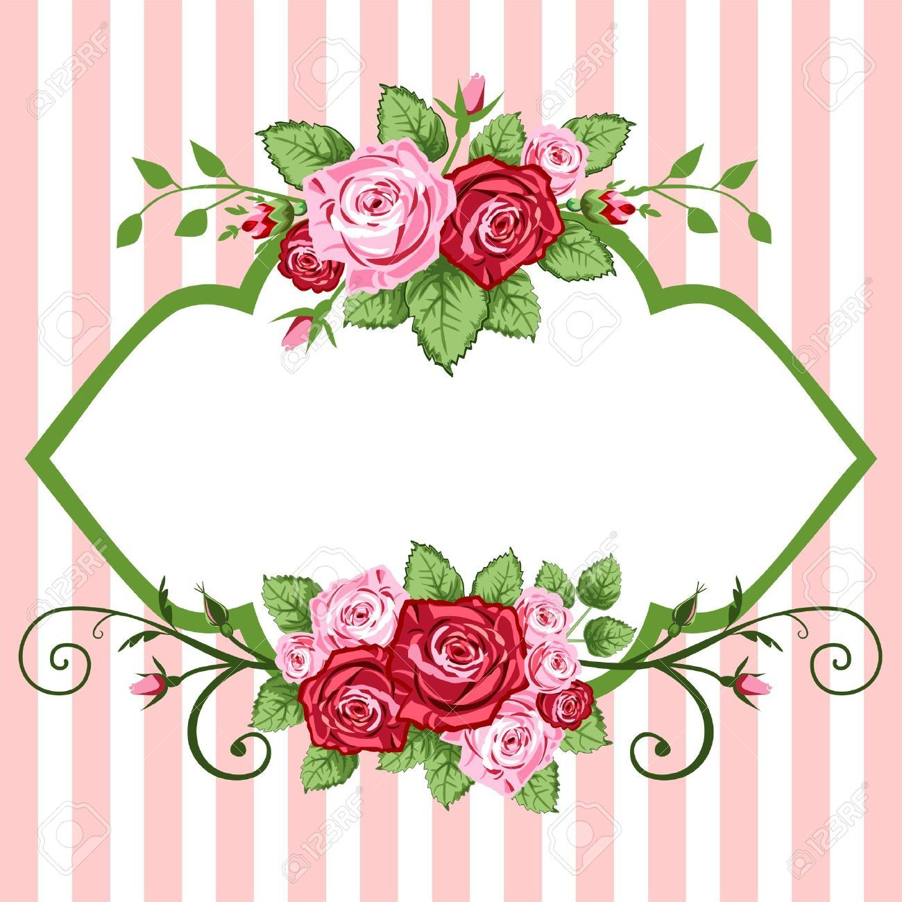 Rose Flower Vector Cliparts, Stock Vector And Royalty Free