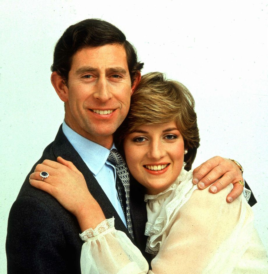 Engagement pictures Prince Charles and Princess Diana