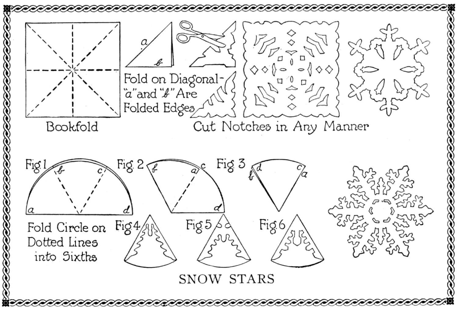 Snowflake Craft Activity