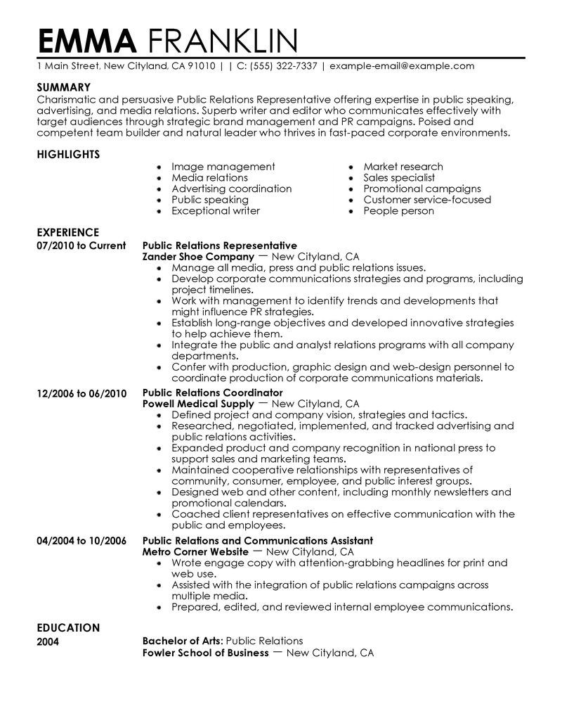 marketing resume template marketing specialist resume sample