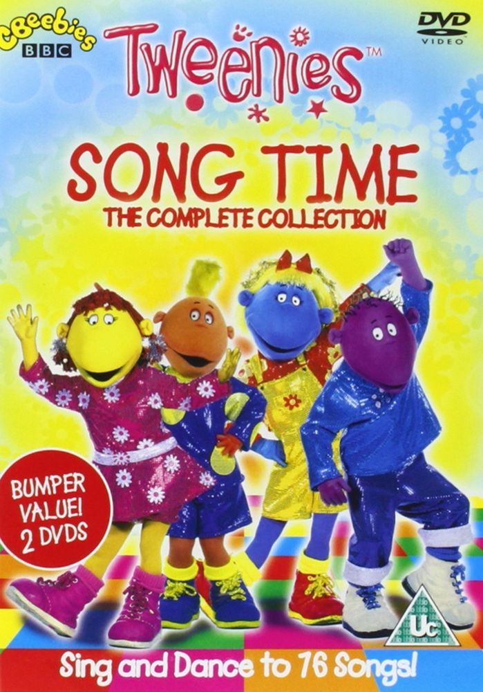 The TWEENIES Song Time Complete Collection, DVD Set, BBC