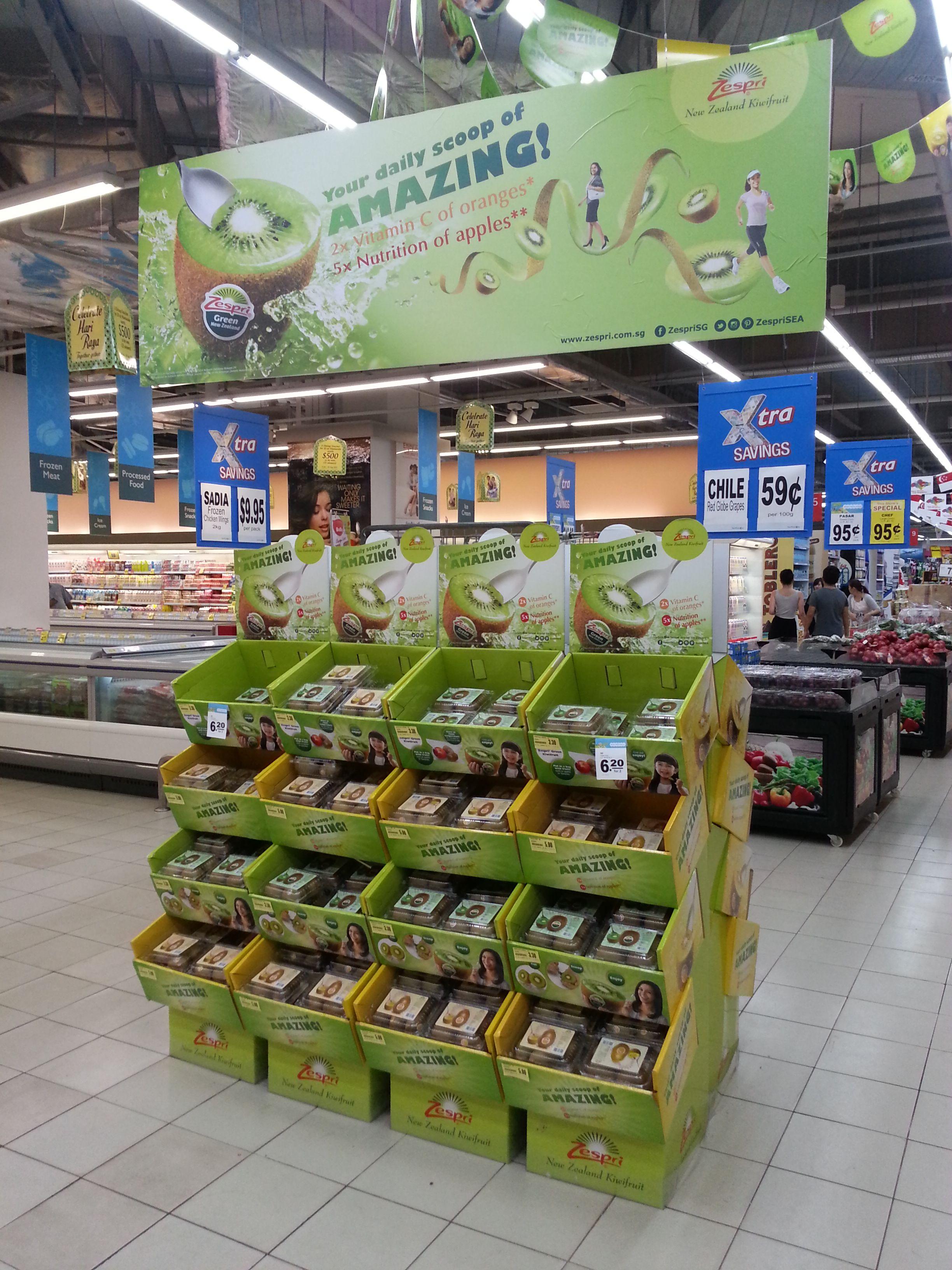Supermarket Design Instore Promotions Retail Design