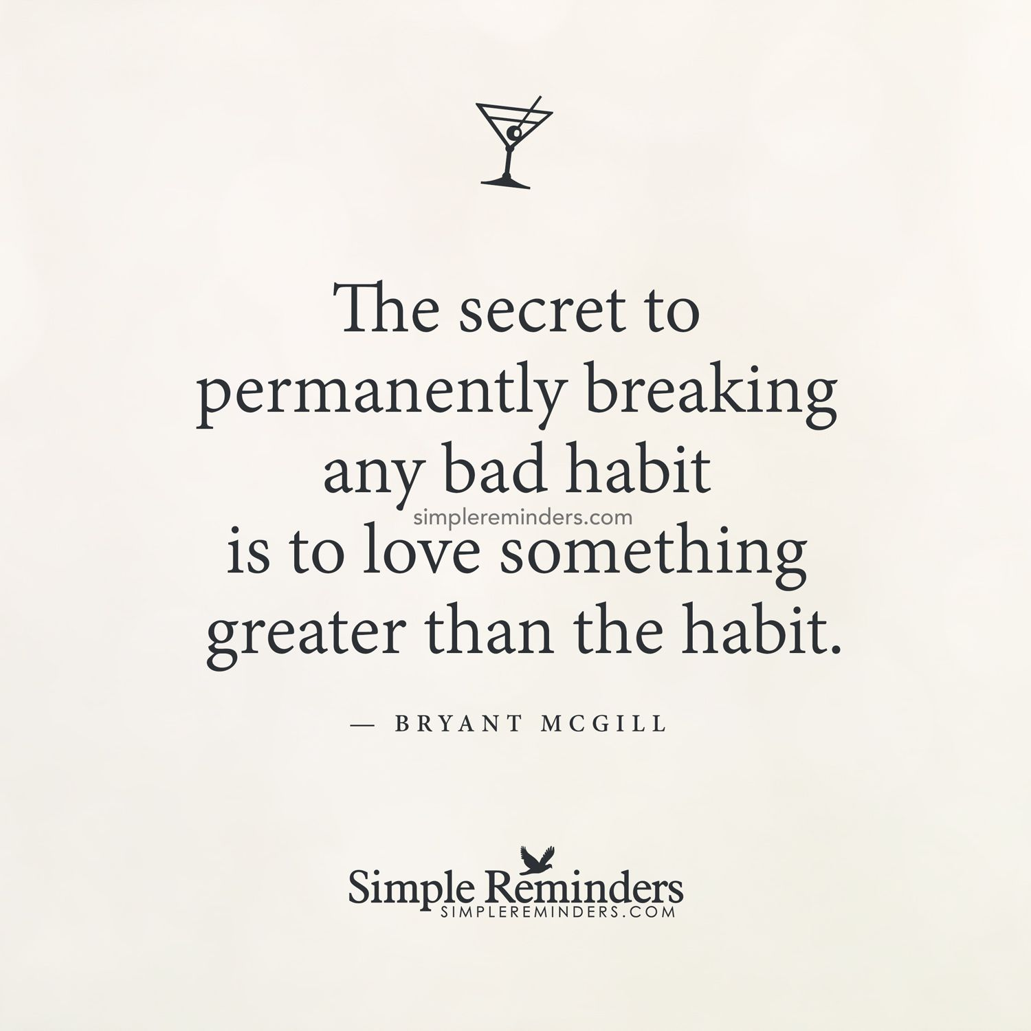 The Secret To Permanently Breaking Any Bad Habit Is To