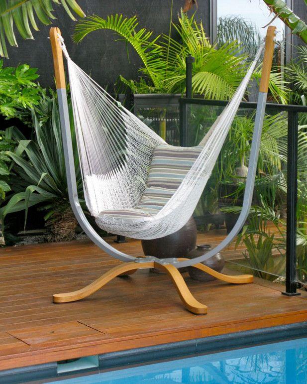 compact indoor hammock stand Hammock Pinterest
