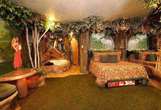 enchanted forest bedroom | home & garden wonderland | pinterest