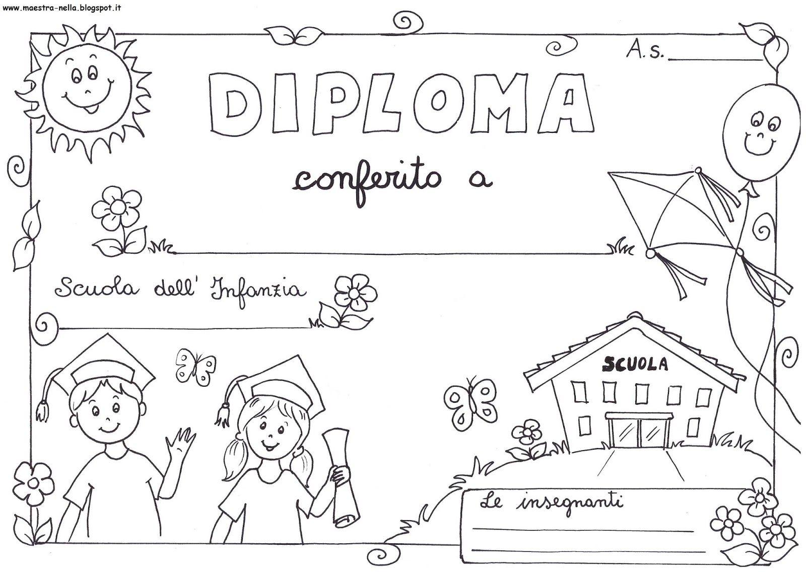 Maestra Nella Diplomi Bambini