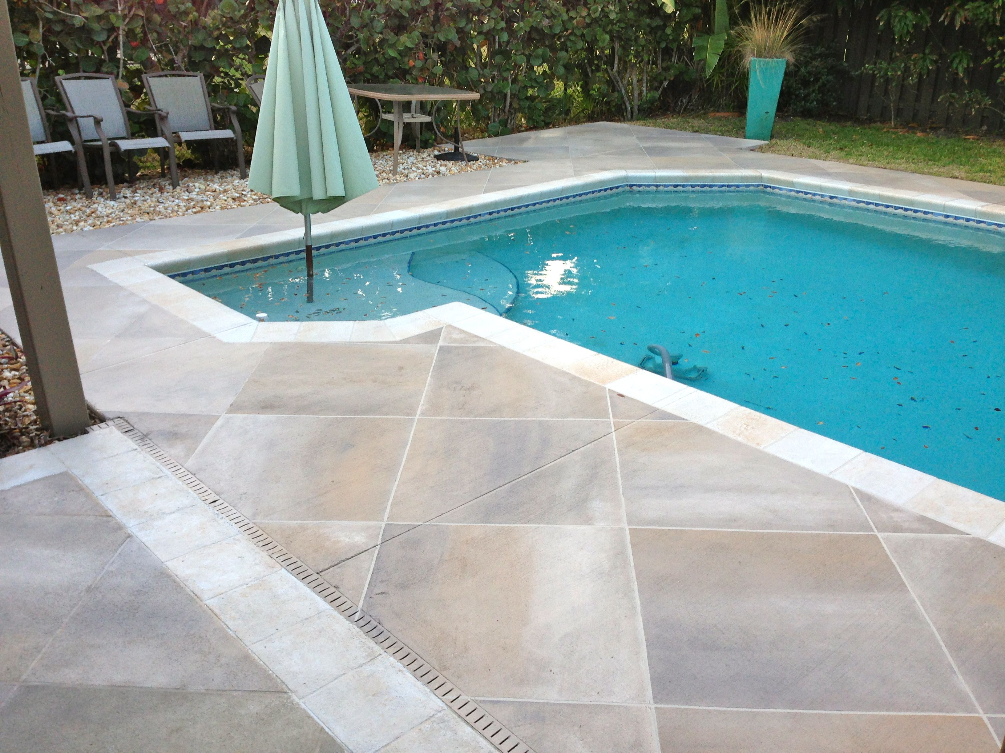 stained concrete pool Google Search Pool Pinterest