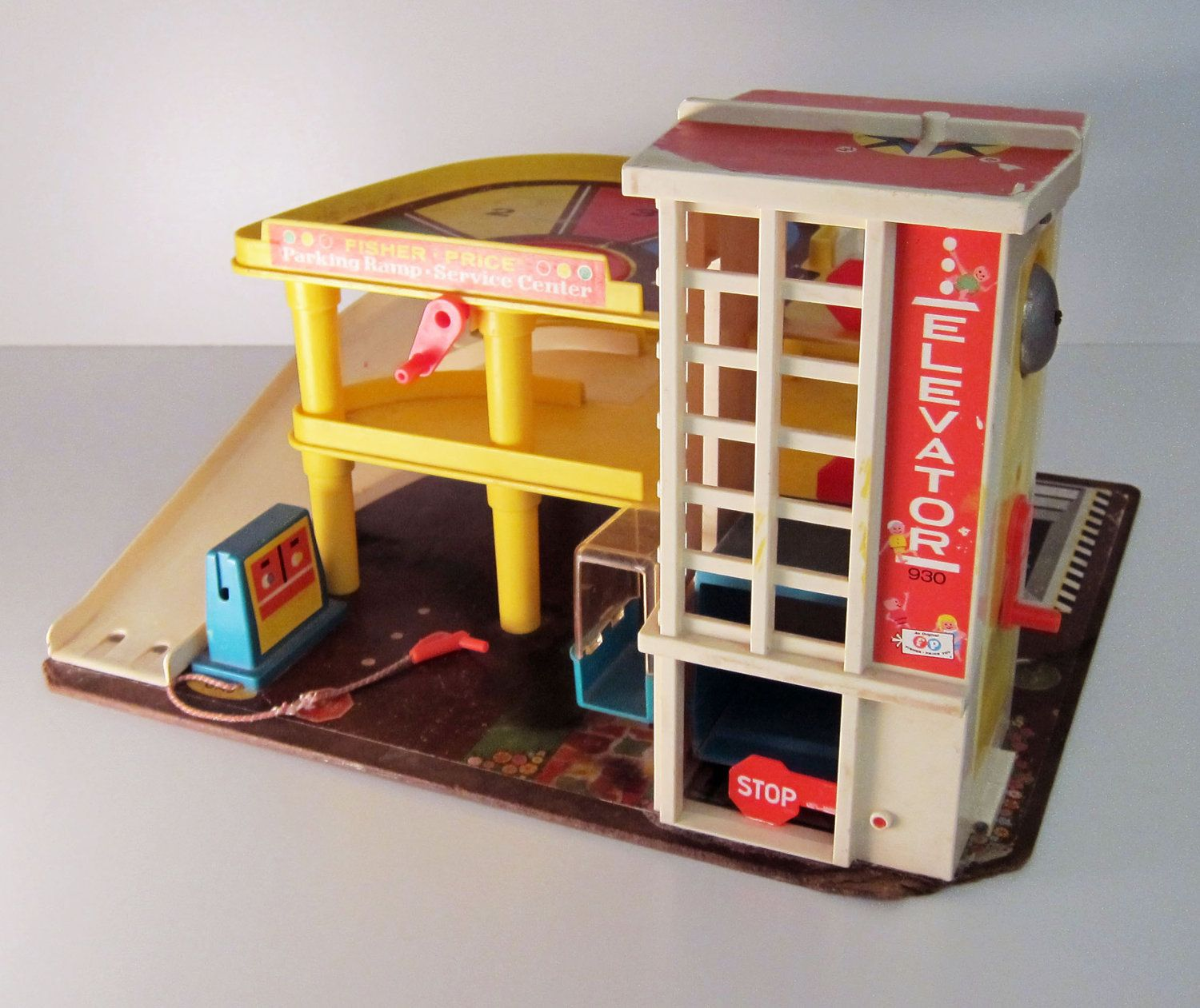 Fisher price garage toy vintage 1970 toy See more ideas