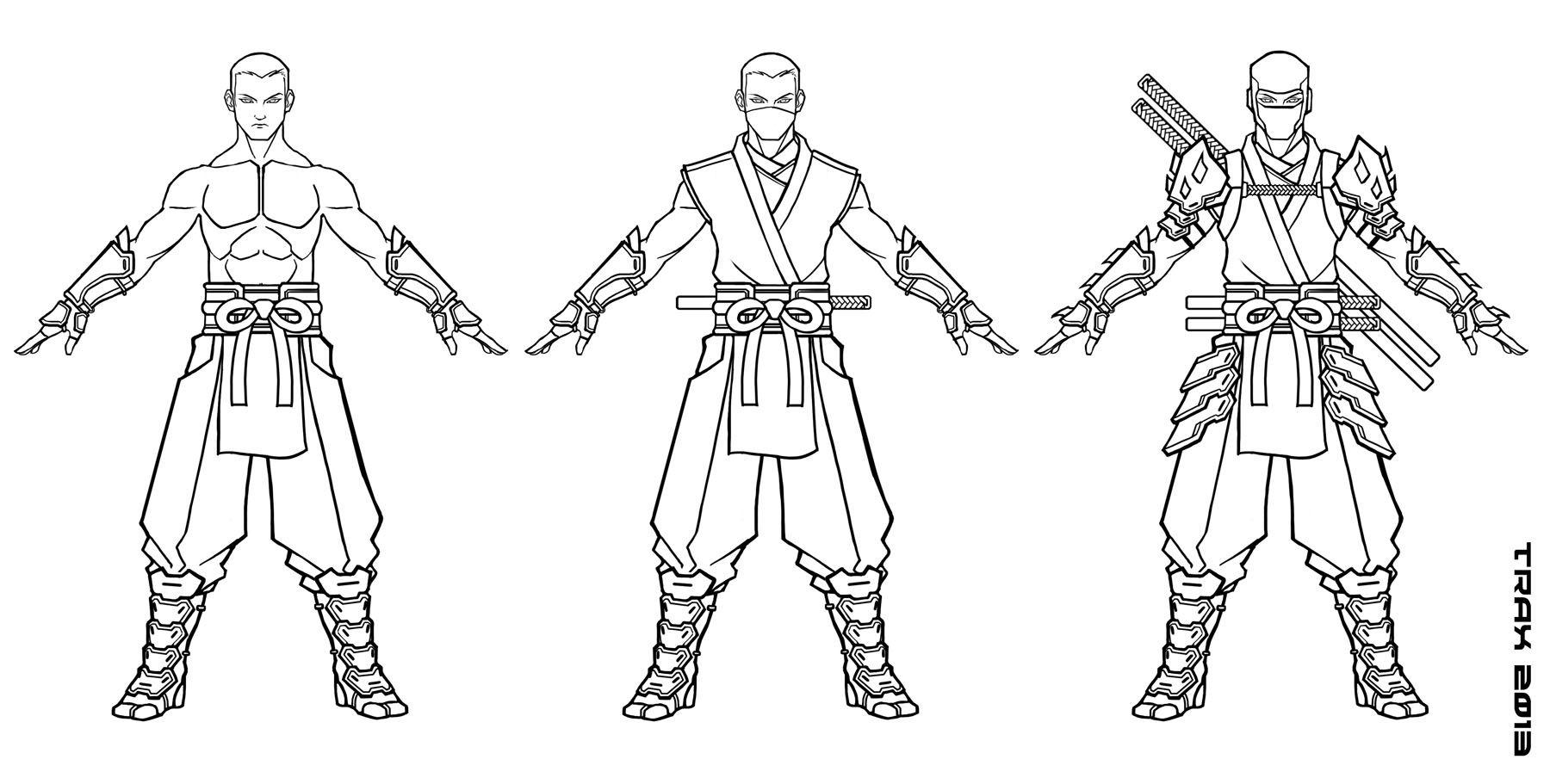 Male Ninja By Taxer Jinnviantart On Deviantart