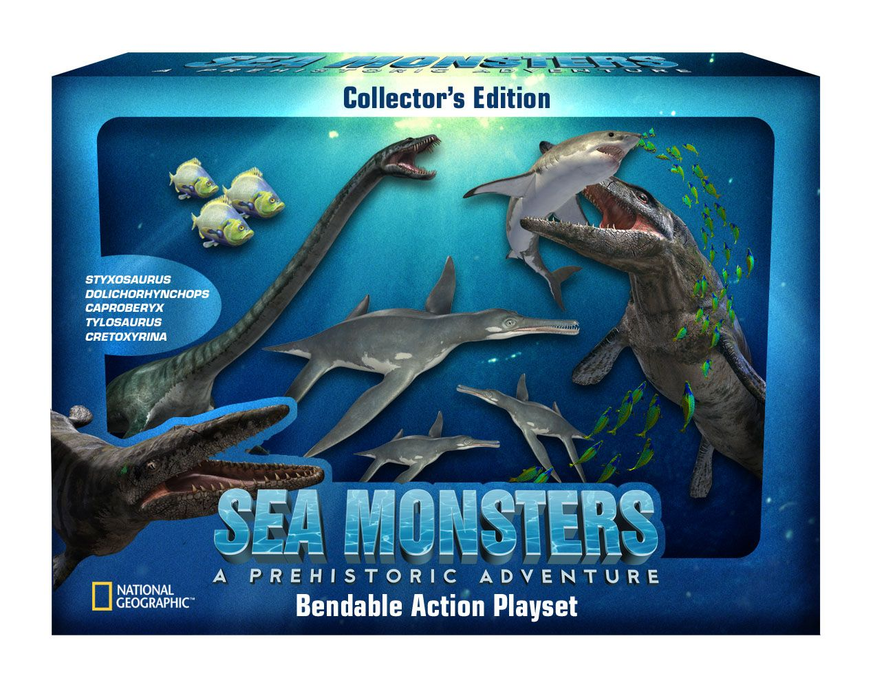 prehistoric sea creatures GOOD for Benny (by Benny