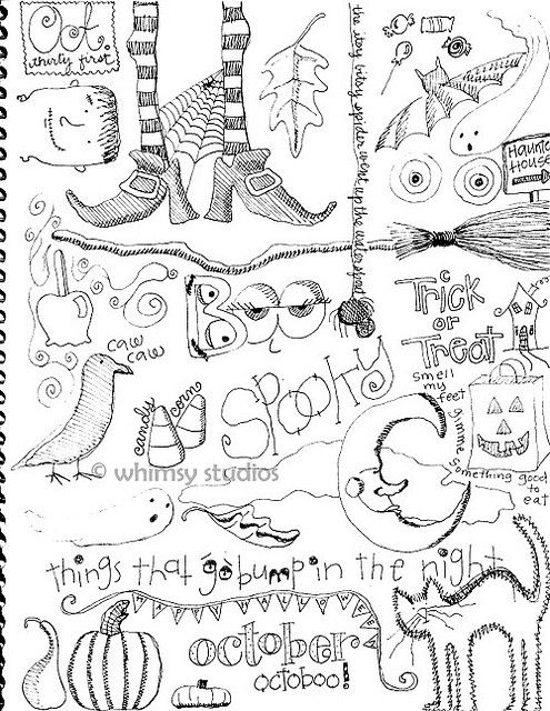 halloween doodles Halloween doodle, Doodle ideas and Doodles