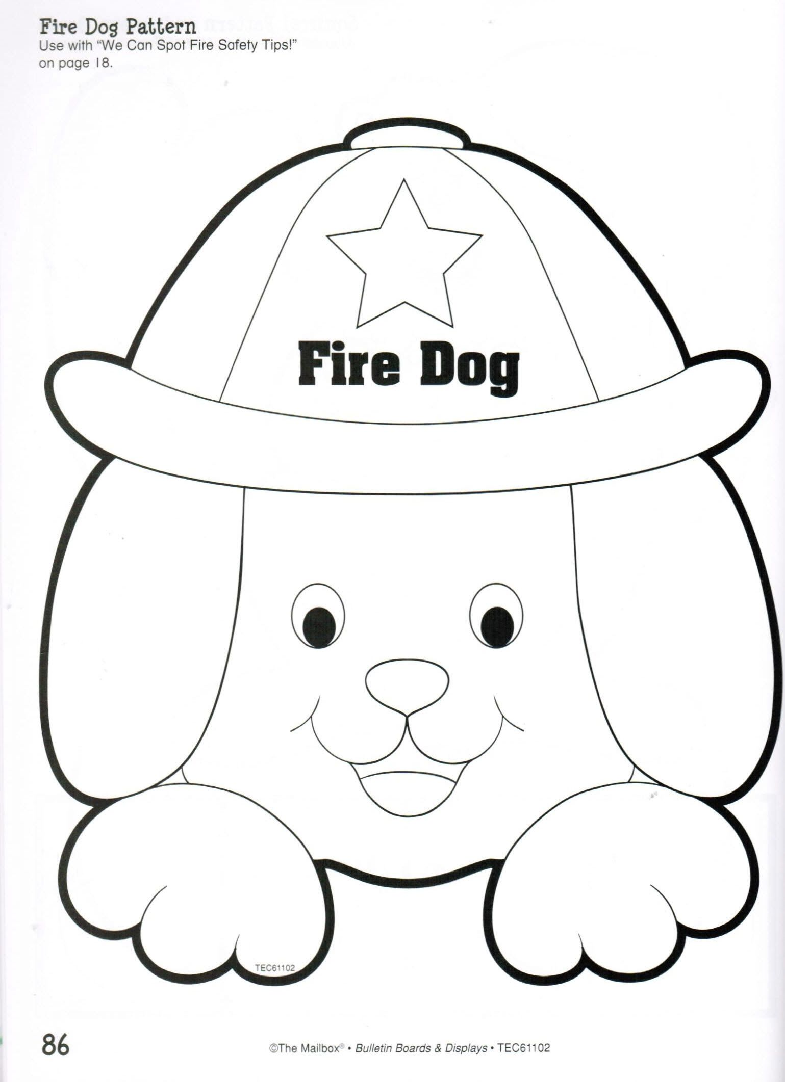 Students Can Review What They Have Learned About Fire Safety During Fire Prevention Week With