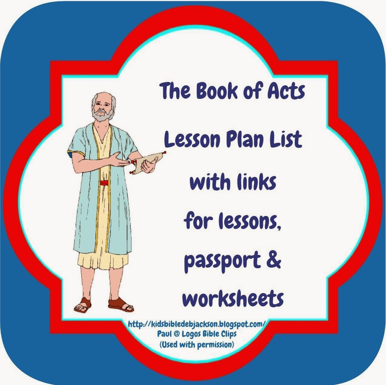 Great Bible Class Ideas For The Book Of Acts Bible
