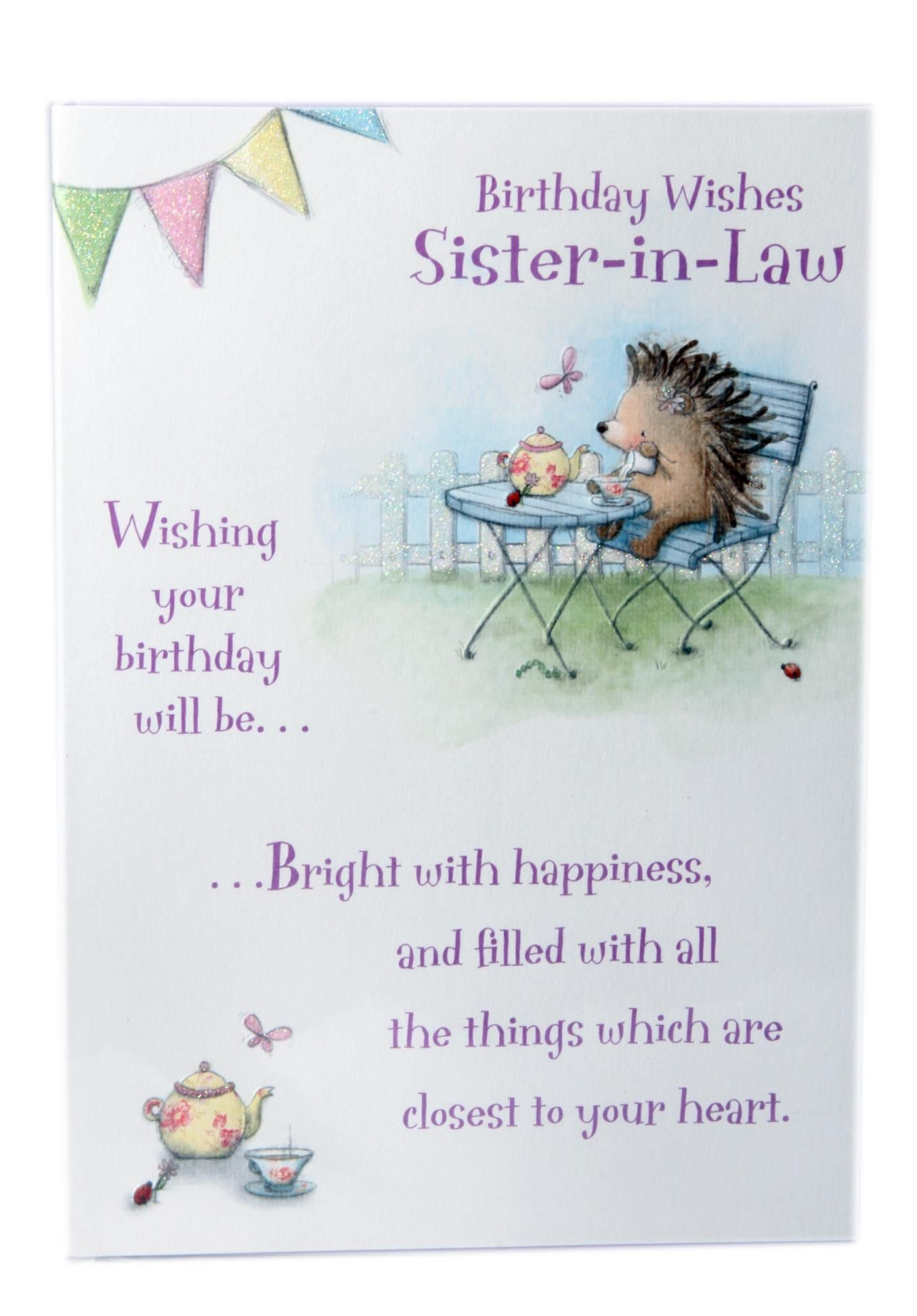 funny birthday quotes for sister in law Birthday