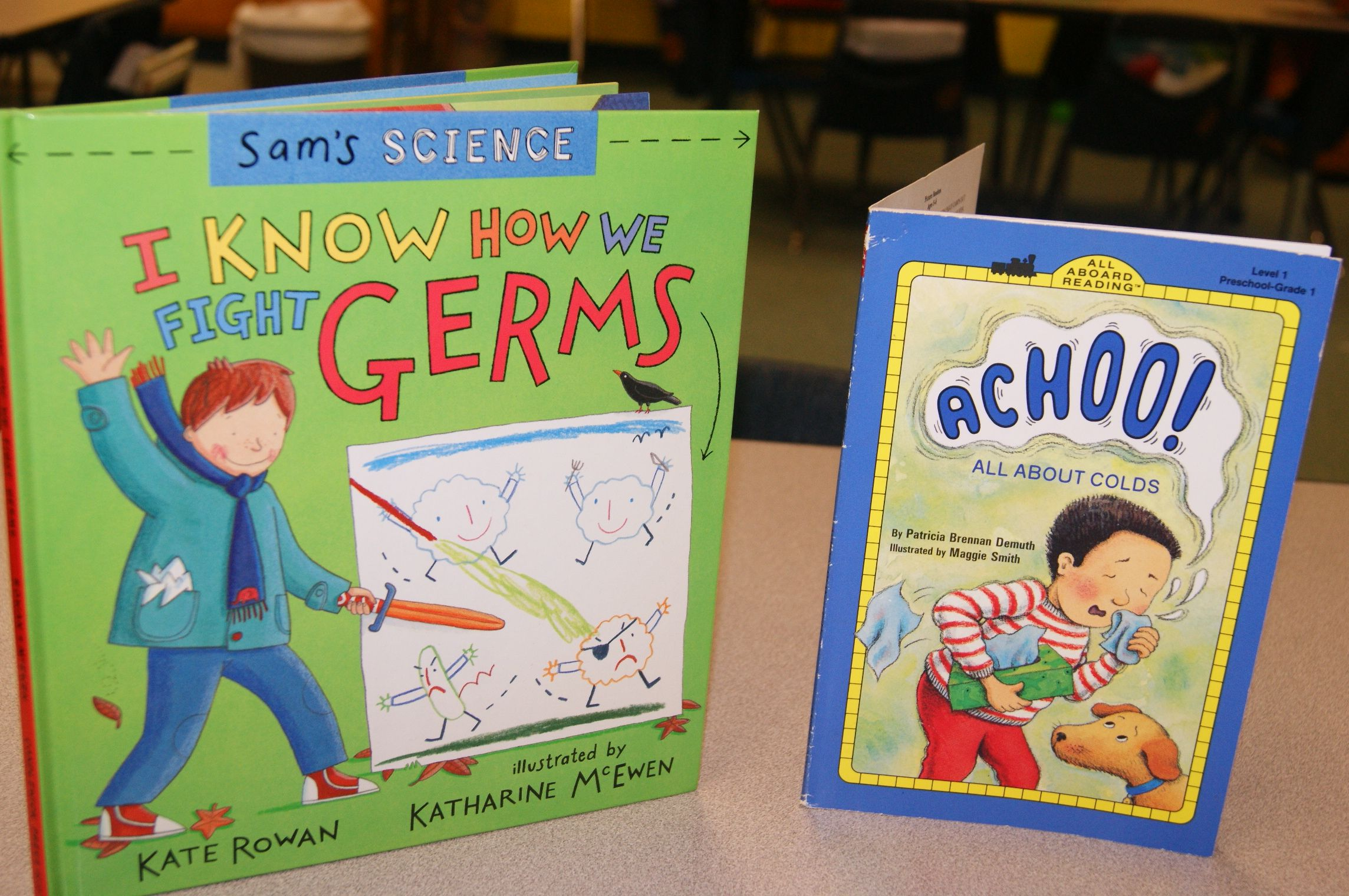 Great Books For A Germ Lesson
