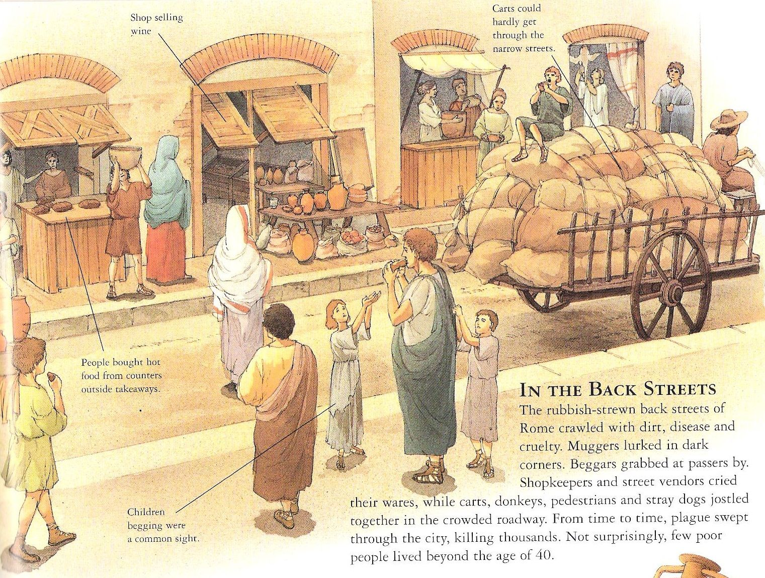 Illustrations Of Ancient Roman Daily Life