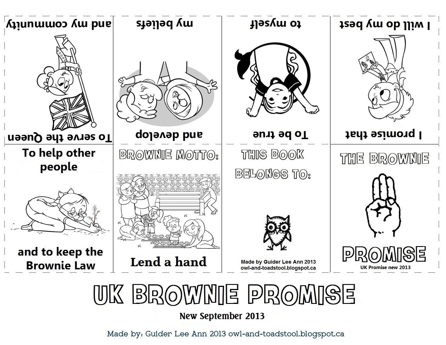 New Promise For Girlguiding Uk Sept Mini Promise