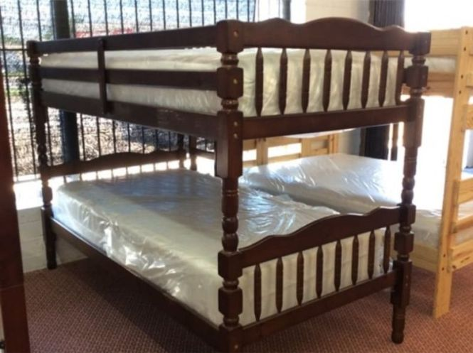 Bunk Beds Complete With Mattresses