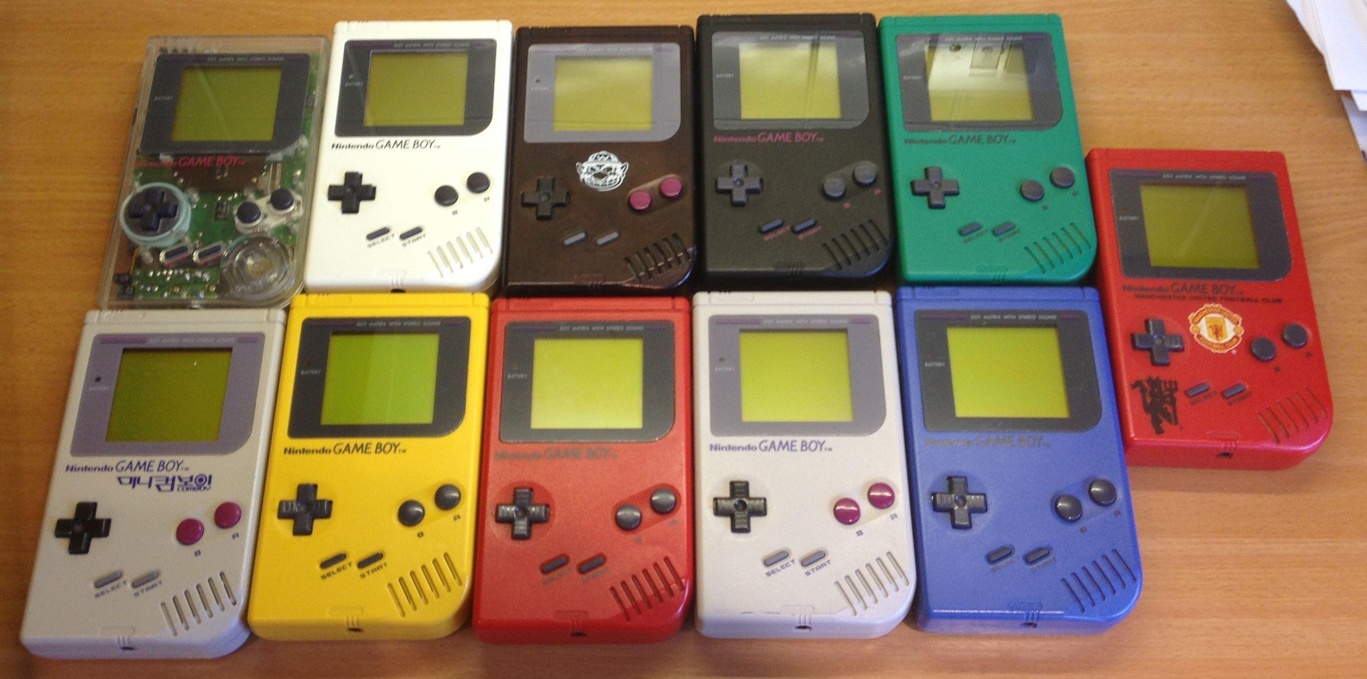 Original Gameboy DMg01 collection. gameboy Pinterest