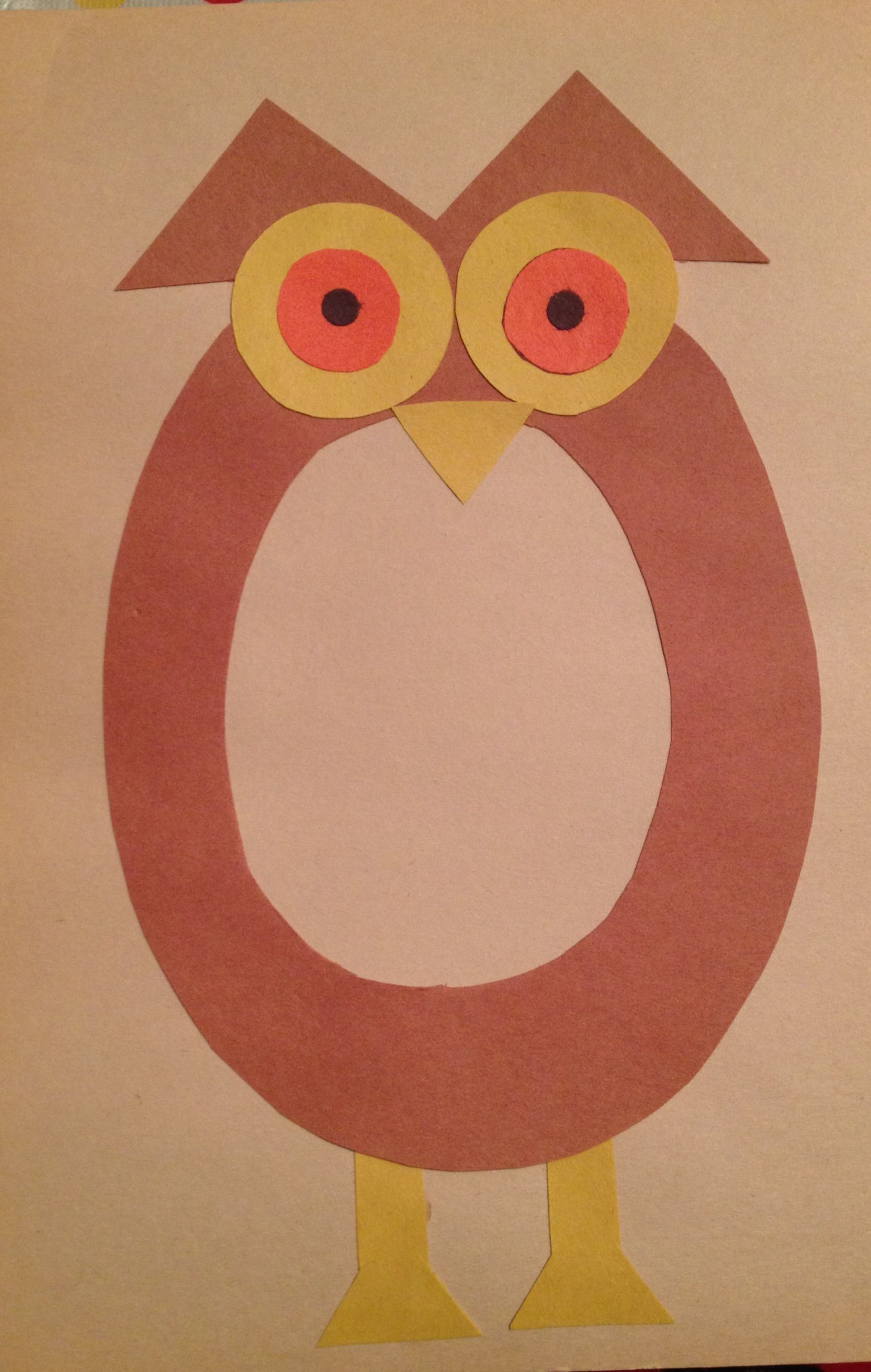 Preschool Letter O Craft