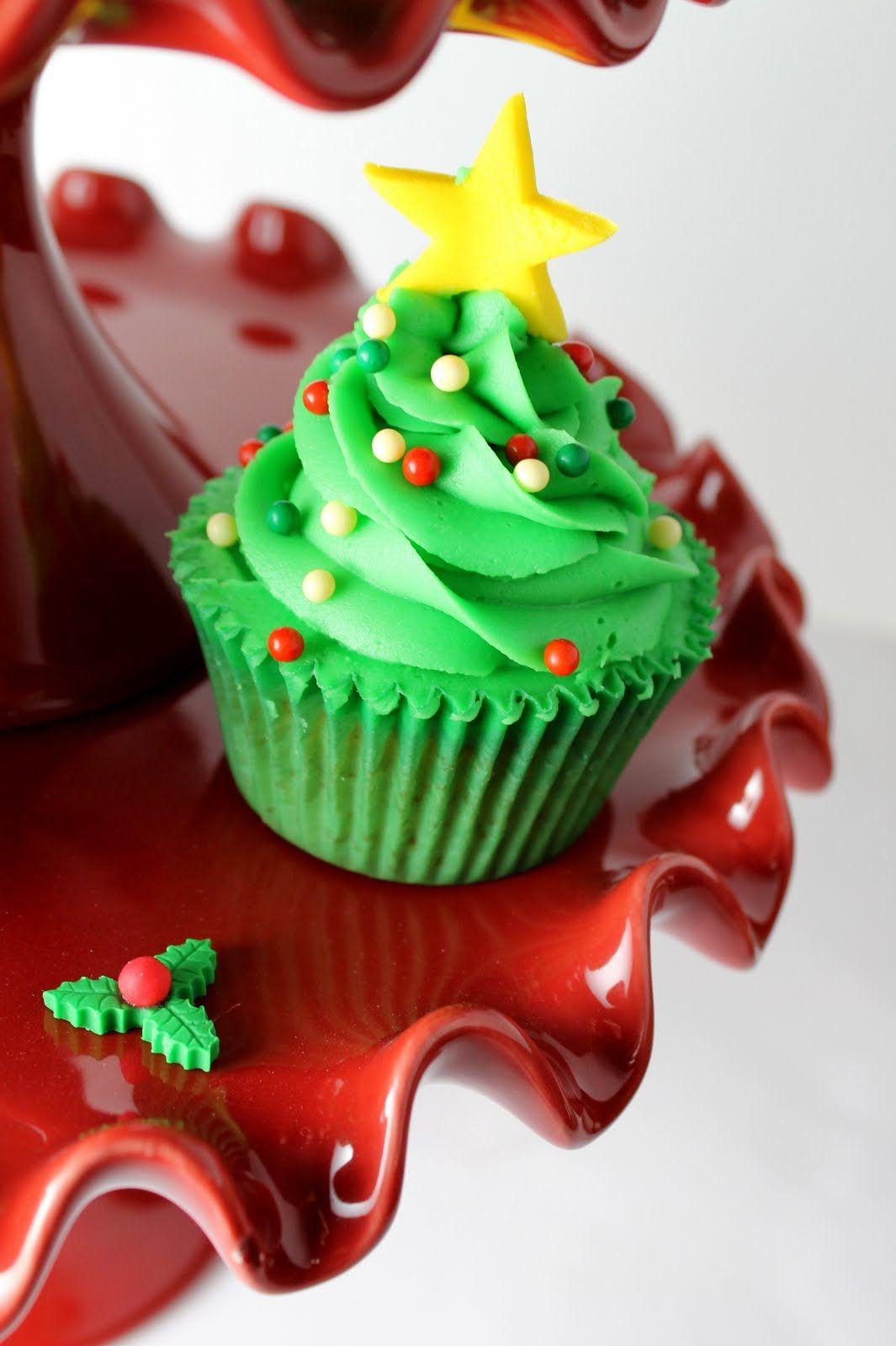 tree cupcakes ★Christmas★ Pinterest Cake, Cup cakes