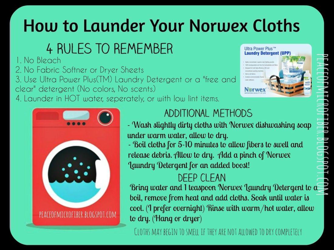 how to use norwex window towel