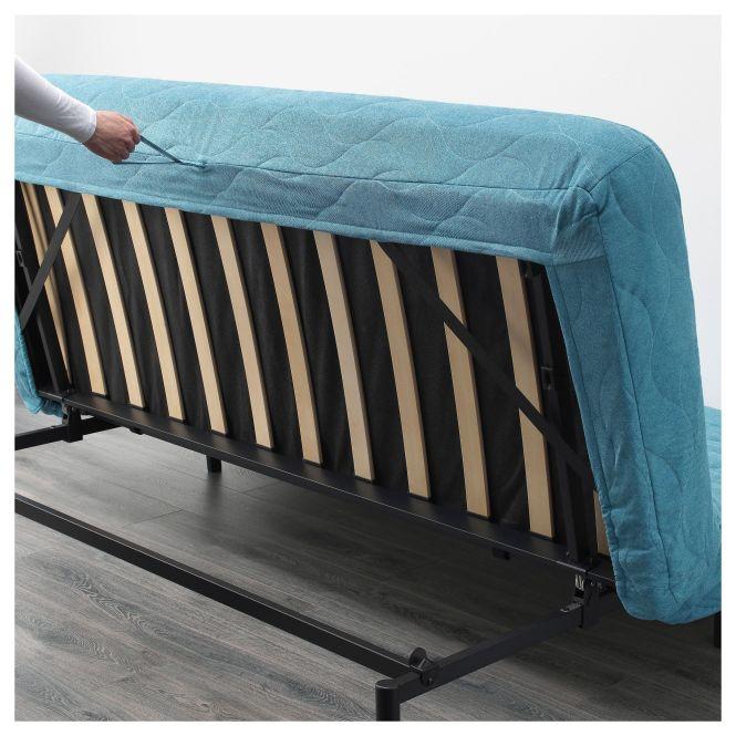 Ikea Nyhamn Sleeper Sofa With Triple Cushion Pocket Spring Mattress
