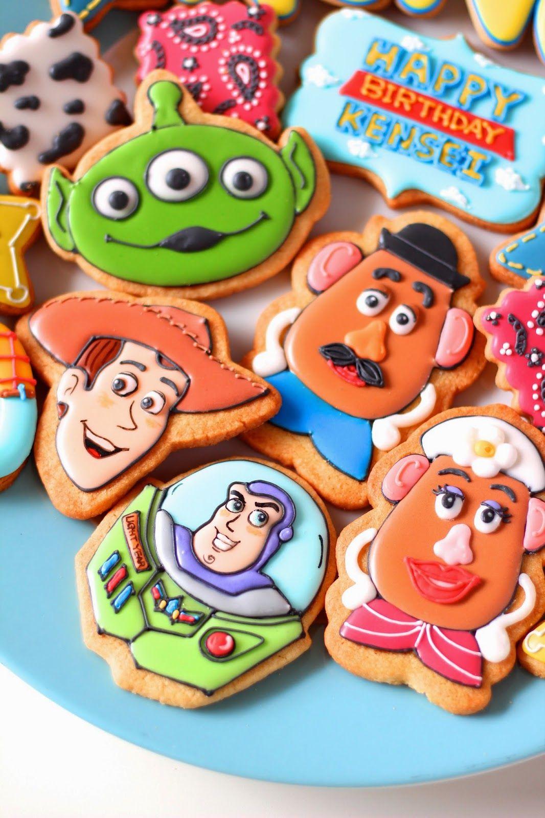 Toy Story Cookies Disney, DreamWorks & Pixar Cakes