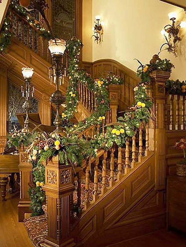 25 Indoor Christmas Decorating Ideas Hgtv, Garlands and