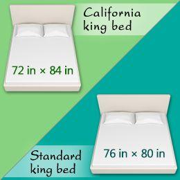 Standard King Bed Vs California