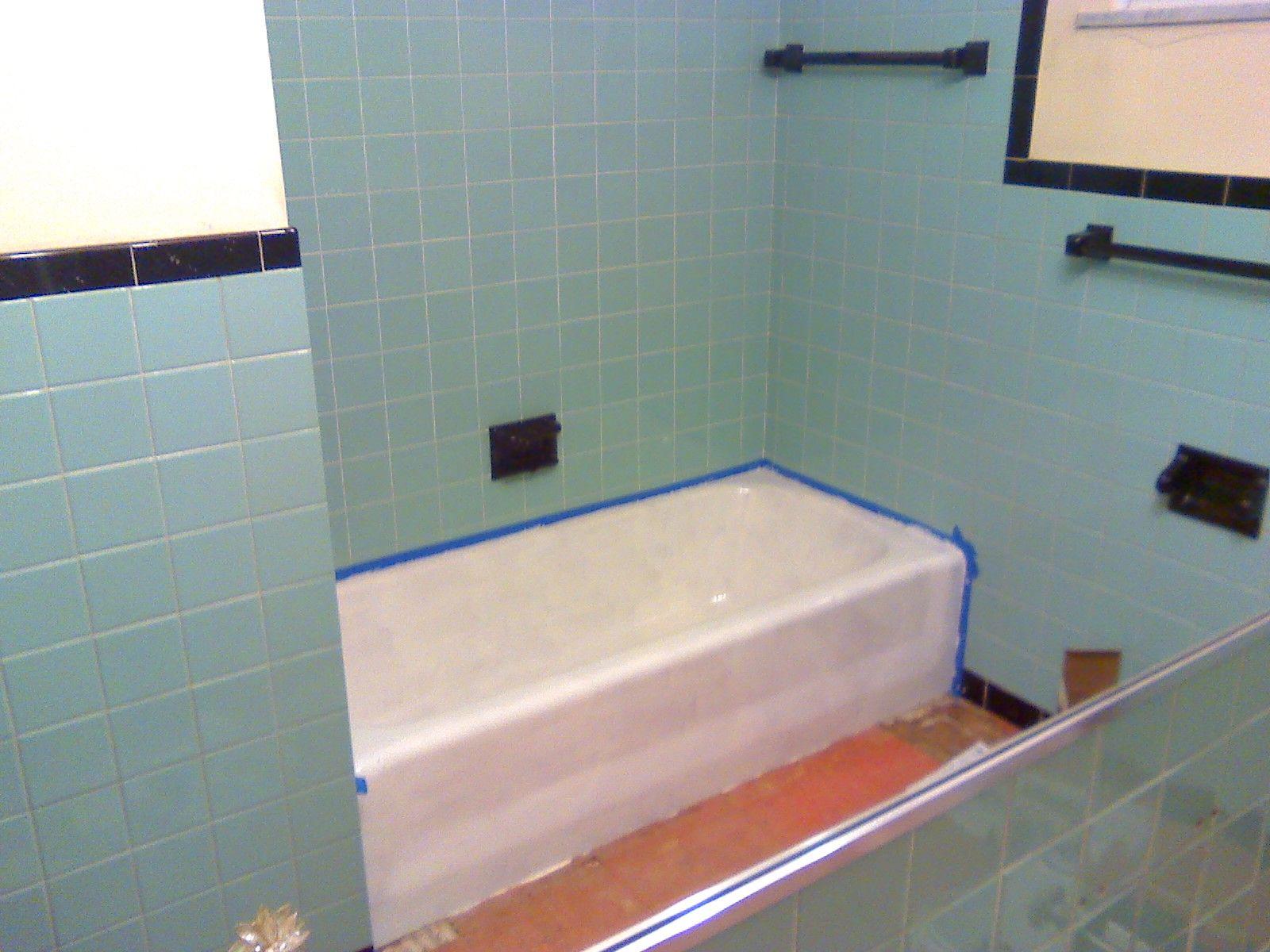 bathroom tile epoxy paint | ideas | pinterest