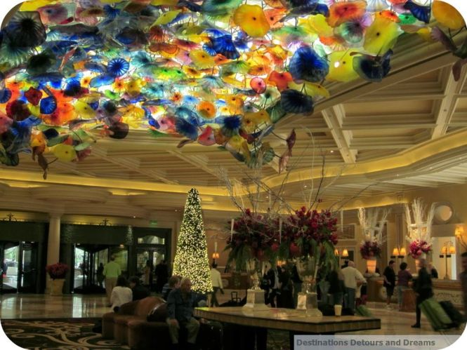 Bellagio Lobby Las Vegas Chandelier By Dale Chihuly