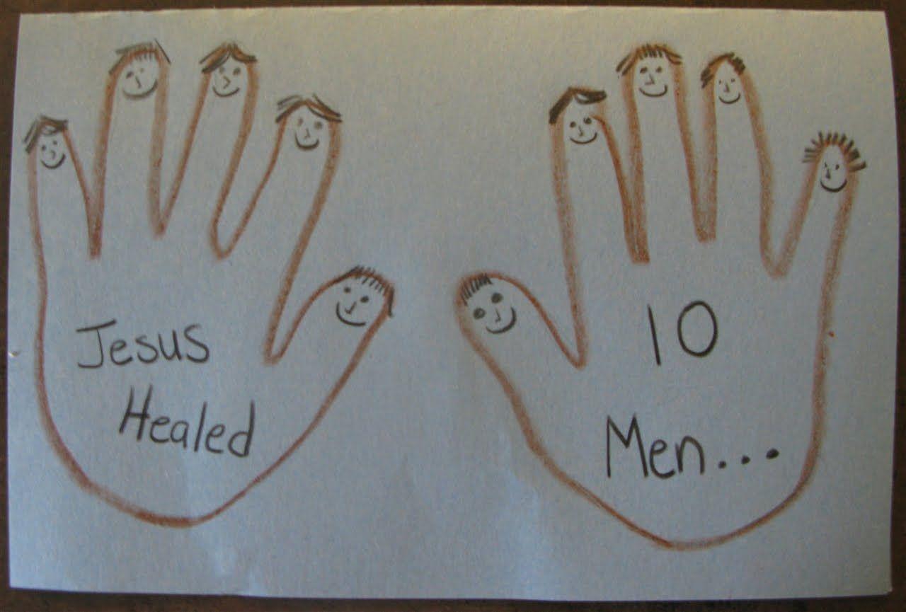 Preschool Craft For Luke 17 11 19