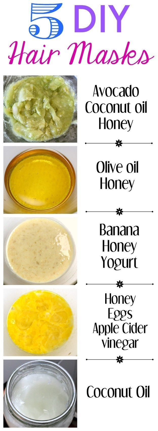 15 Hair Masks to Protect Your Hair Homemade hair