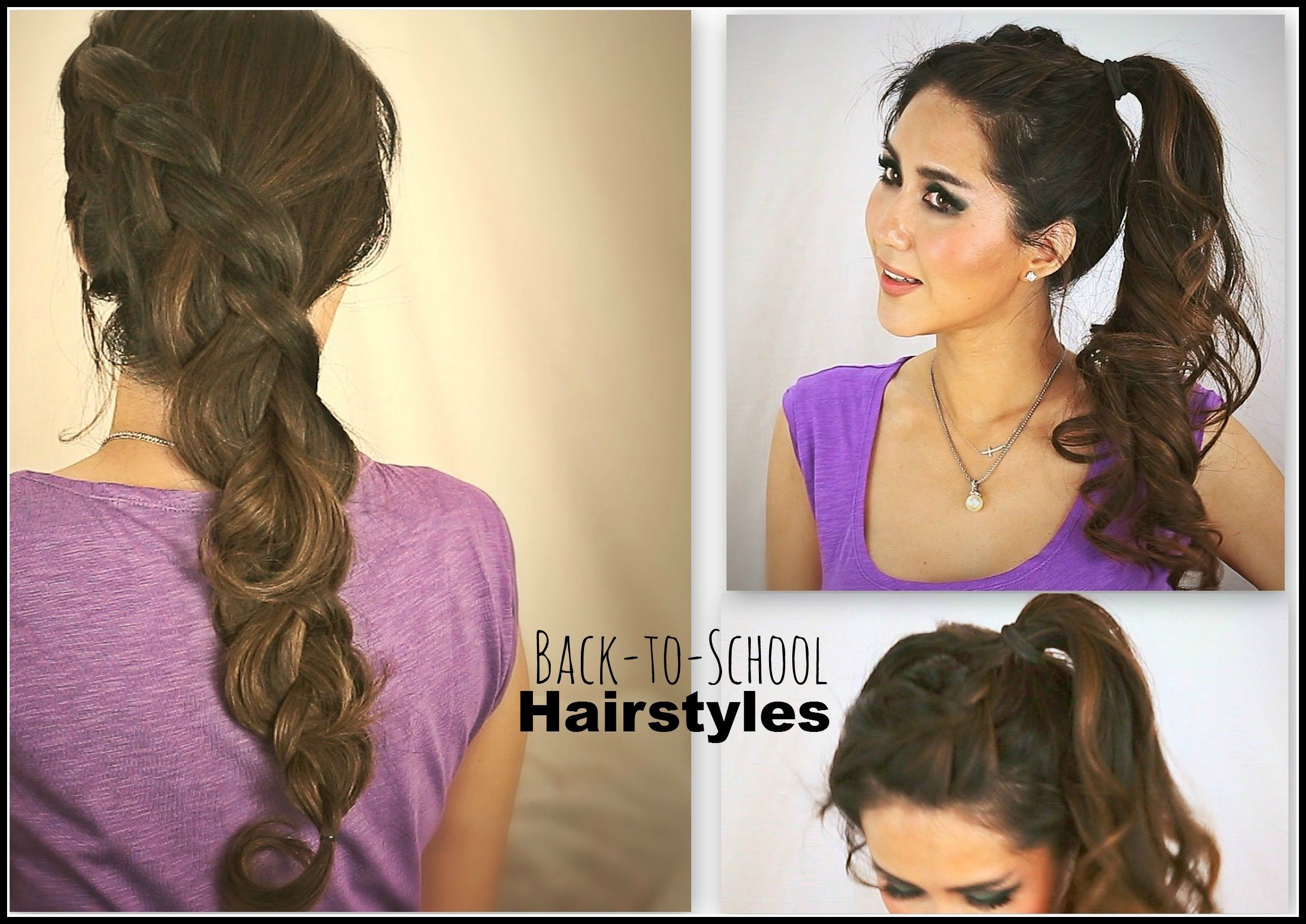 easy hairstyles for school for teenage girls hair