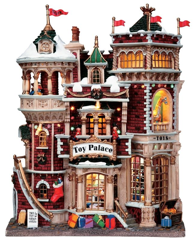 Lemax Village Collections Toy Palace christmas