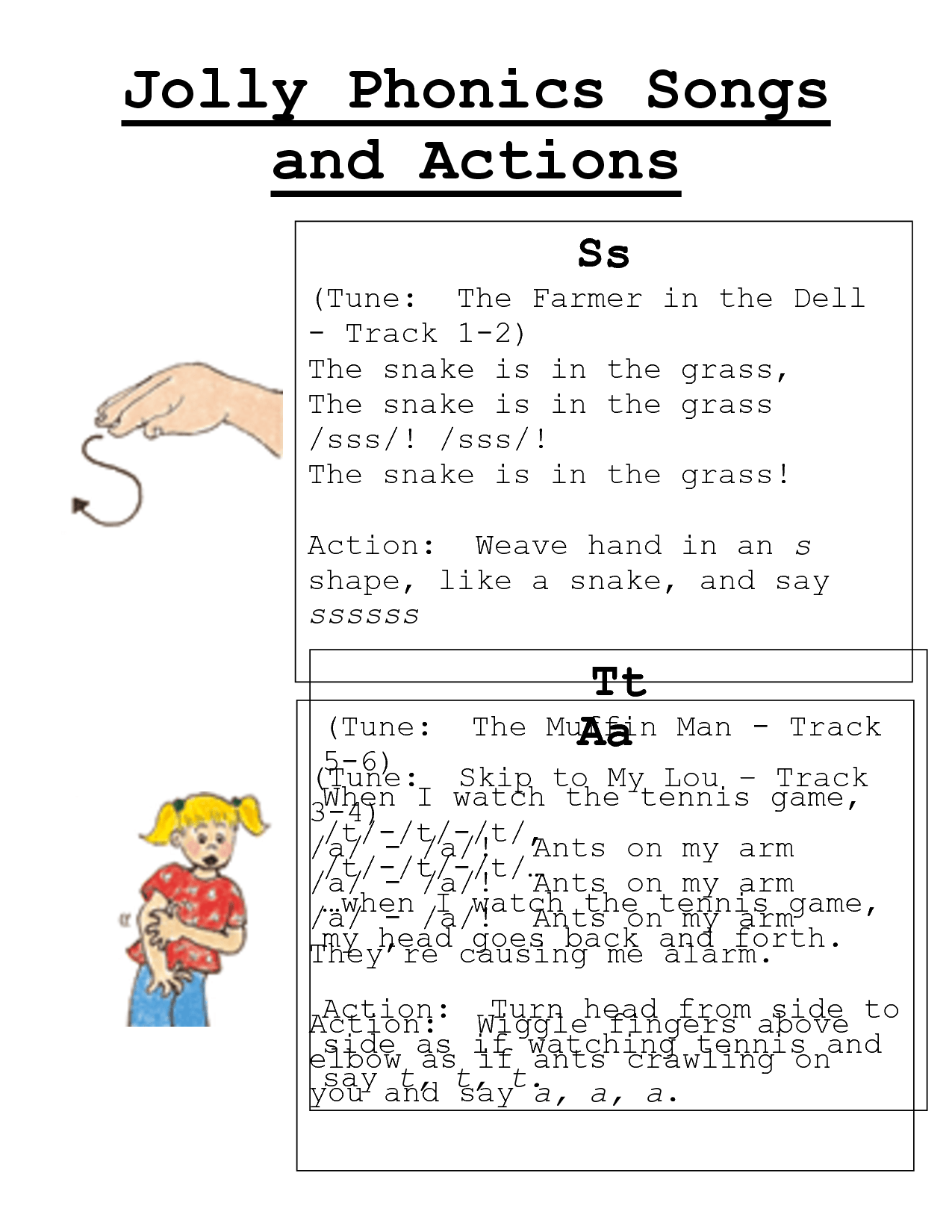 Jolly Phonics Songs And Actionsc Download Legal Documents